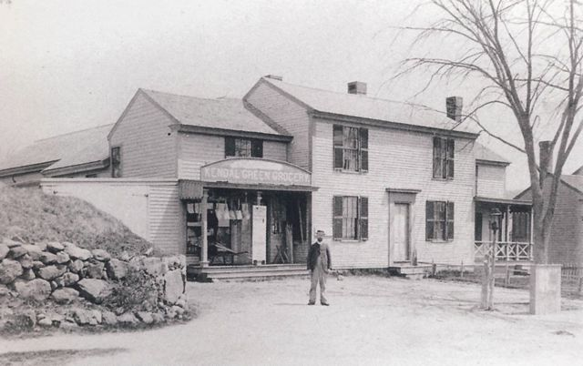 George Warren Brodrick ran the general store and post office located at 107-109 North Avenue