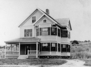 Mid-1890s photograph of the George N. Stevens House at 297 North Avenue