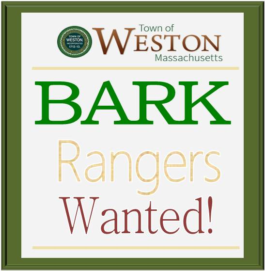 Bark Ranger Wanted sign