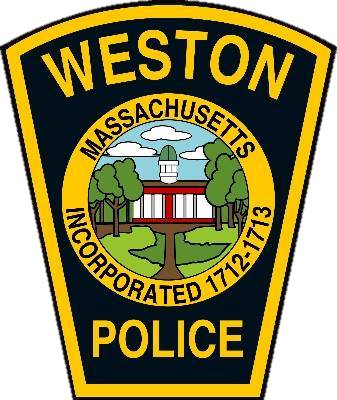 Weston police badge